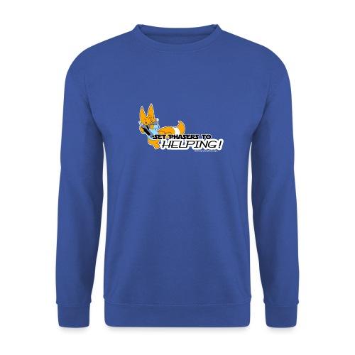 Set Phasers to Helping - Unisex Sweatshirt