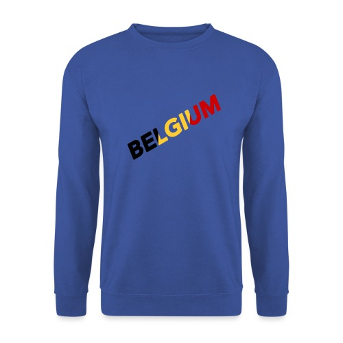 BELGIUM - Sweat-shirt Unisex