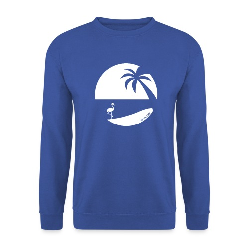 Logo French Floridian blanc - Sweat-shirt Homme