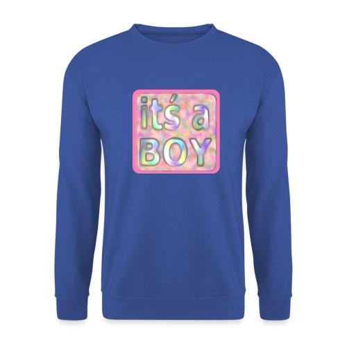 its a boy rosa text skylt - Men's Sweatshirt
