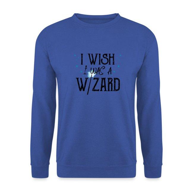 I Wish I Was A Wizard - Black