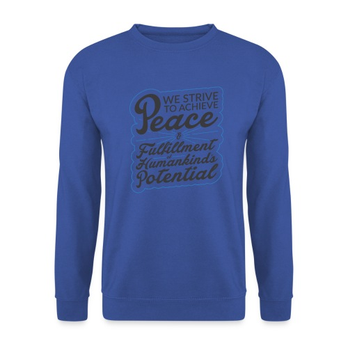 peace - Sweat-shirt Homme