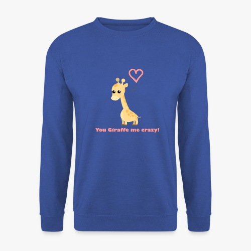 Giraffe Me Crazy - Herre sweater