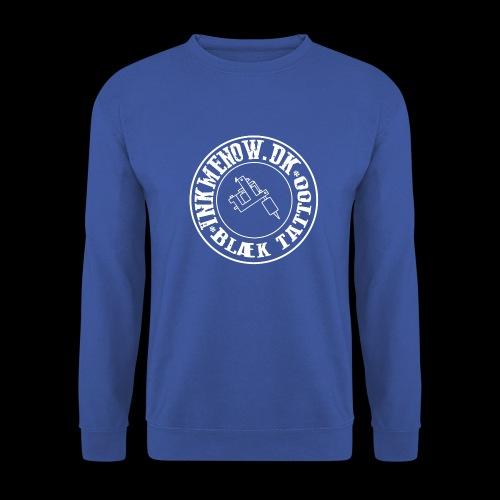 logo hvid png - Herre sweater
