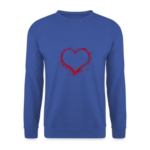 Herz/Heart - Männer Pullover
