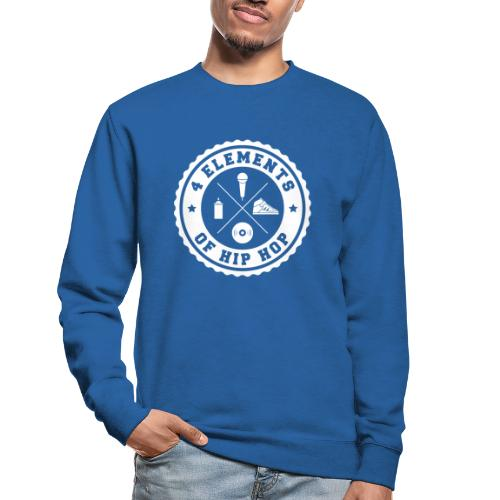 4 Elements Of Hip Hop 01 white edition - Unisex Pullover
