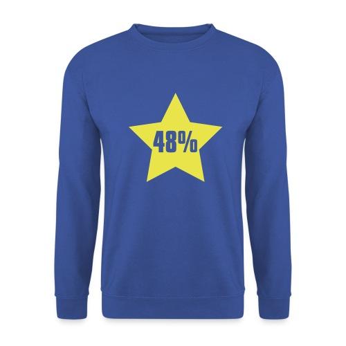 48% in Star - Men's Sweatshirt