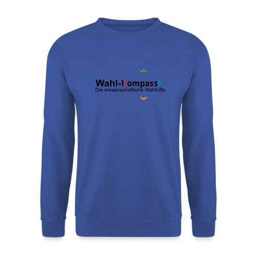 Wahl-Kompass Logo mit Slogan - Männer Pullover