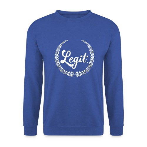 legit white - Unisex sweater