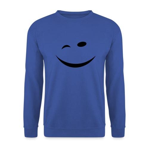 Zwinkersmiley - Männer Pullover