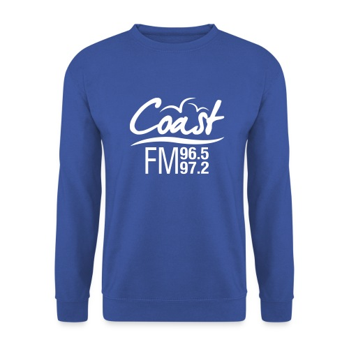 Coast FM single colour print - Men's Sweatshirt