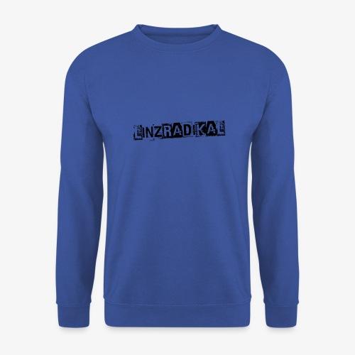 Linzradikal schwarz - Männer Pullover
