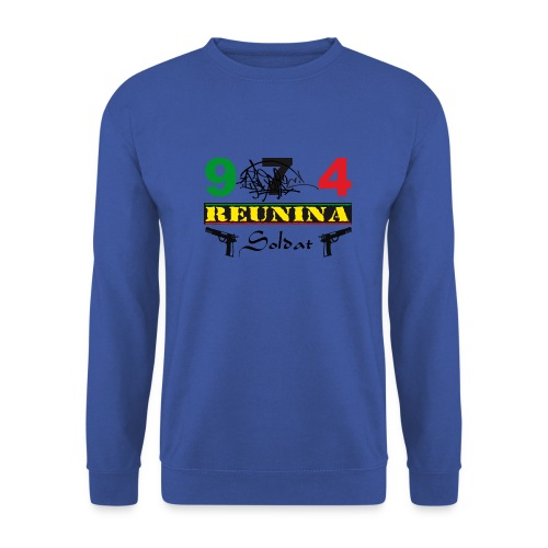 974 ker kreol ikon rasta 06 - Sweat-shirt Homme