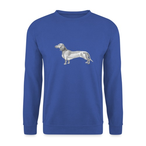 Dachshund smooth haired - Herre sweater