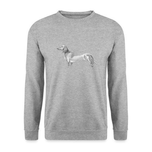 Dachshund smooth haired - Herre sweater