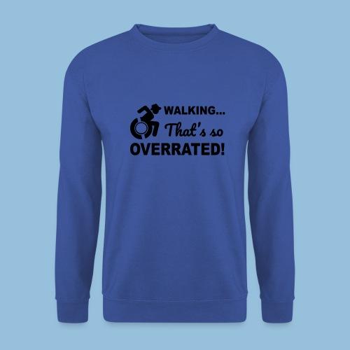 Walkingoverrated2 - Mannen sweater