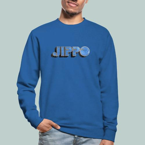 JIPPO LOGO (blue) - Unisex svetaripaita