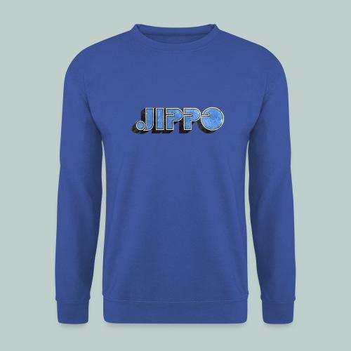 JIPPO LOGO (blue) - Miesten svetaripaita