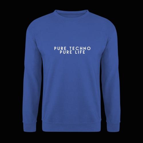 Pure Techno Pure Life White - Männer Pullover