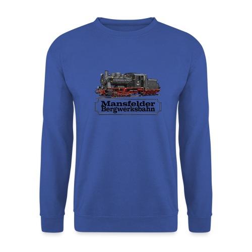mansfelder bergwerksbahn dampflok 1 - Männer Pullover