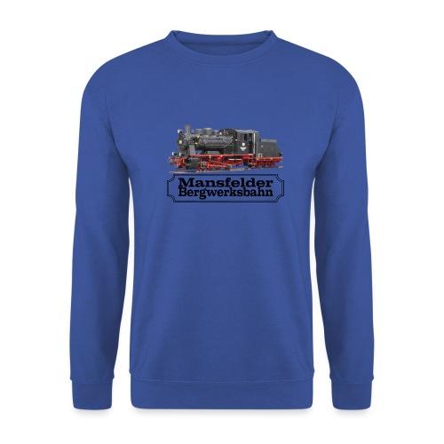 mansfelder bergwerksbahn dampflok 3 - Männer Pullover