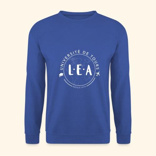 L.E.A Blanc - Sweat-shirt Homme