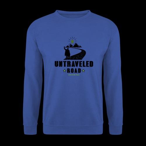 Untraveled Road Logo - black/small - Unisex Pullover
