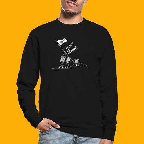 Dat Robot: Destroy War Dark - Unisex sweater