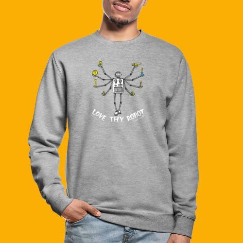 Dat Robot: Love Thy Robot Shiva Dark - Unisex sweater