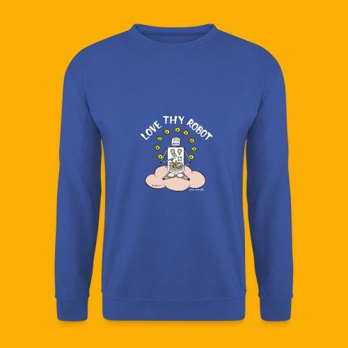 Dat Robot: Love Thy Robot Buddha Dark - Mannen sweater