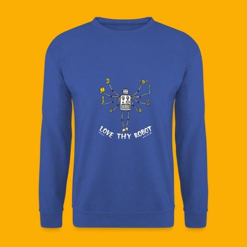 Dat Robot: Love Thy Robot Shiva Dark - Mannen sweater