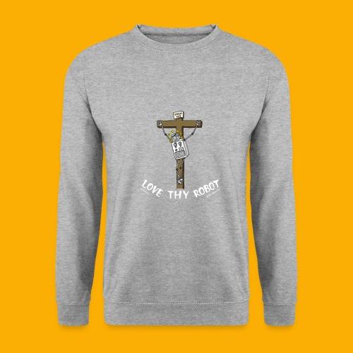Dat Robot: Love Thy Robot Jesus Dark - Mannen sweater