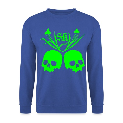 Plantskulls front and back - Unisex sweater