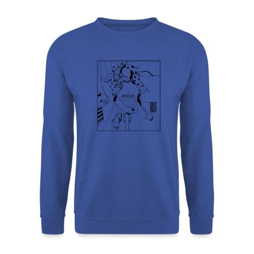 Beauty on a bicycle - Men's Sweatshirt