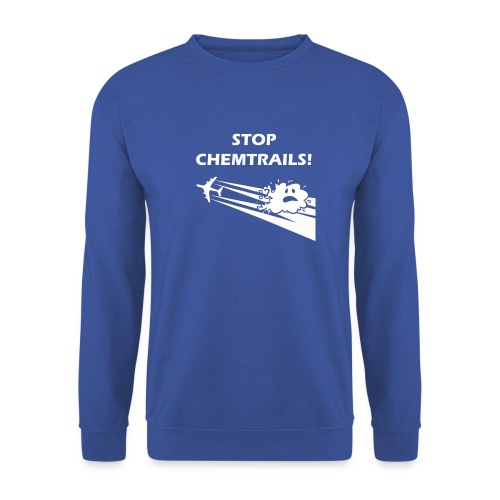 CAMISETA STOPCHEMTRAILS c - Men's Sweatshirt