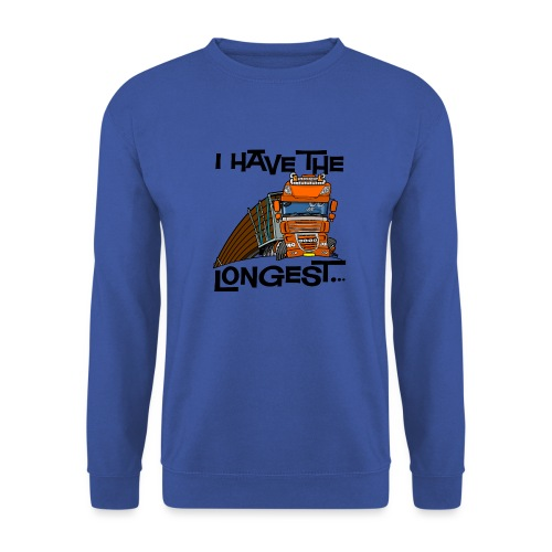 0793 D Truck I have the longest loads (FRONT+BACK) - Mannen sweater