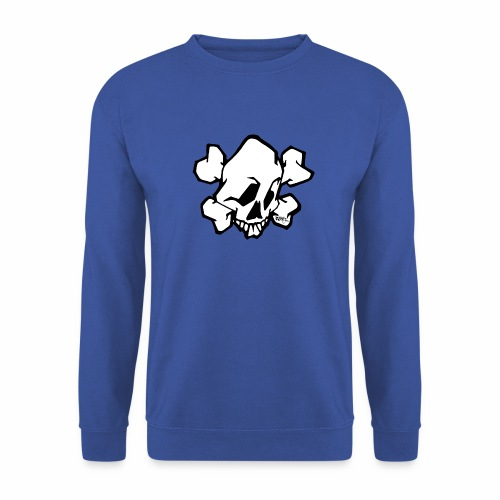 skull white ver01 fresh 86 - Herre sweater