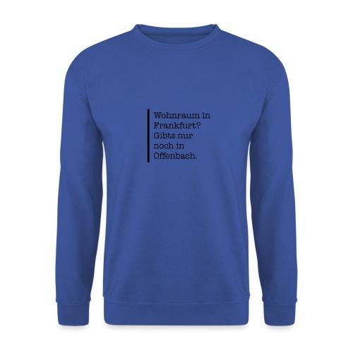 Wohnraum in Frankfurt? - Männer Pullover