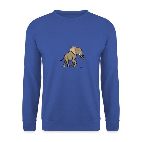 Elefante africano - Felpa da uomo