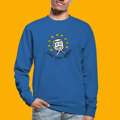 Dat Robot: Love Thy Robot Series Light - Unisex sweater