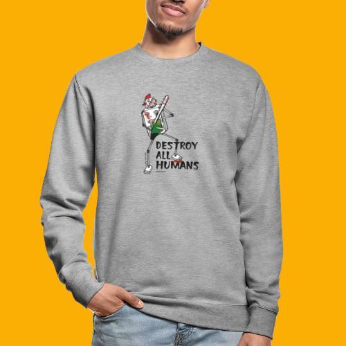 Dat Robot: Destroy Series Killer Clown Light - Unisex sweater