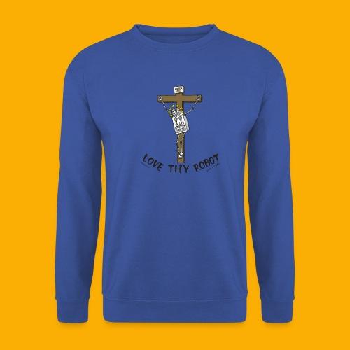 Dat Robot: Love Thy Robot Jesus Light - Mannen sweater