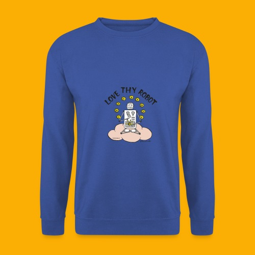 Dat Robot: Love Thy Robot Buddha Light - Mannen sweater