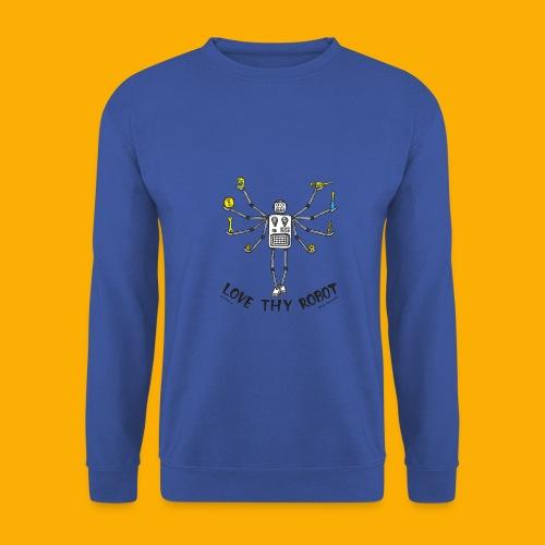 Dat Robot: Love Thy Robot shiva Light - Mannen sweater