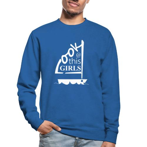 AndriesBik look thisGIRLS shirt witteletters - Unisex sweater
