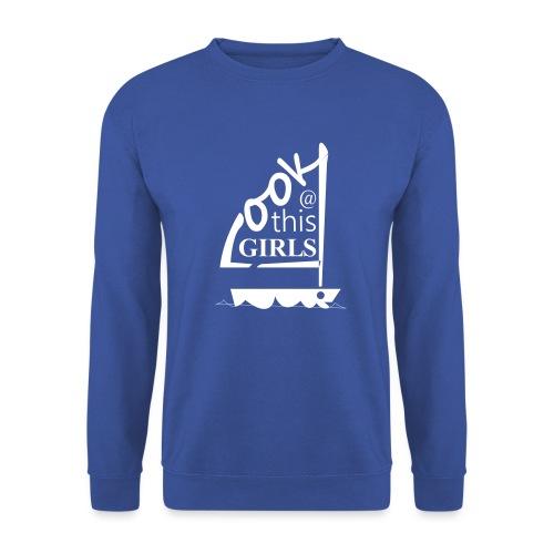 AndriesBik look thisGIRLS shirt witteletters - Mannen sweater