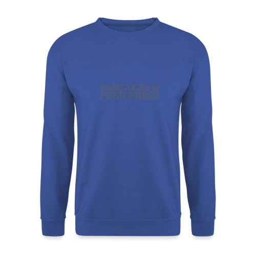 Pancakes & Push Press - Men's Sweatshirt