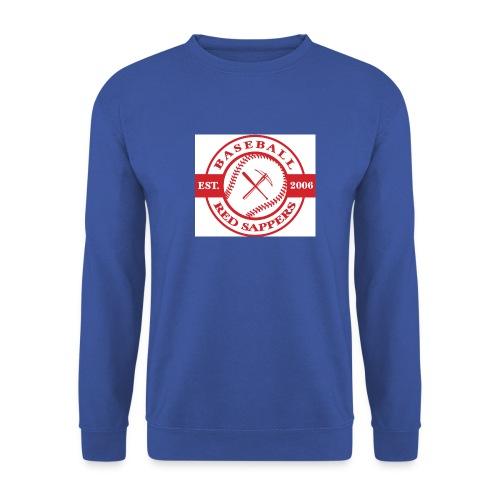 logo weiss - Men's Sweatshirt