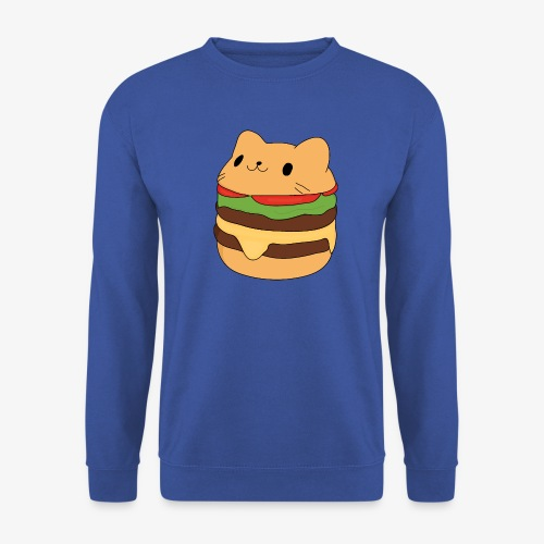 cat burger - Men's Sweatshirt
