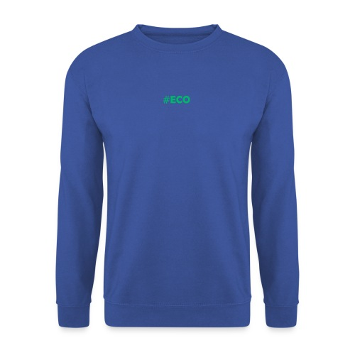 #ECO Blue-Green - Unisex Pullover